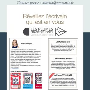 #Concours #LesPlumesFrancophones2019 #KDP